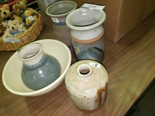 lot of Nice Hand Made Pottery