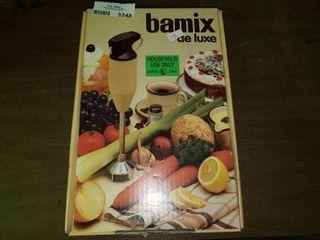 Vintage Bamix De luxe Hand Mixer in Box
