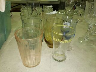 lot of Misc Drinking Glasses