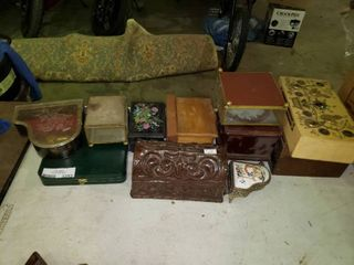 lot of Jewelry Boxes