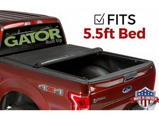 Gator ETX Roll Up  fits  2007 2019 Toyota Tundra 5 5 FT Bed w  TS Only Soft Roll Up Truck Bed Tonneau Cover Made in the USA 53412