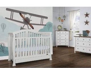 Dream On Me Addison 5 in 1 Convertible Crib