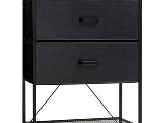 Crestlive Products Vertical Dresser Storage Tower   Sturdy Steel Frame Wood T