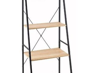 ClosetMaid 1312 4 Tier Wood ladder Shelf Bookcase  Natural