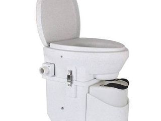 Nature s Head Self Contained Composting Toilet with Close Quarters Spider Handle Design