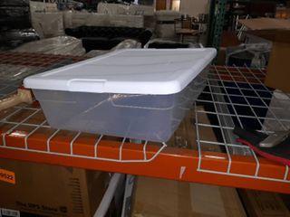Sterilite plastic bin