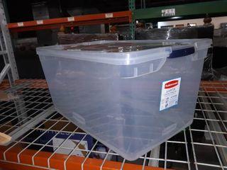Rubbermaid 95 QT Storage box