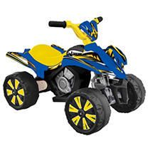 Kid Motorz 6V Xtreme Quad In Blue   Yellow
