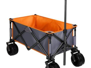 Triple Tree Collapsible Outdoor Utility Wagon
