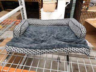 large Black Dog bed