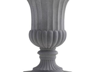 Nearly Natural 7507 Indoor Outdoor Decorative Urn  16 5 Inch  Brown