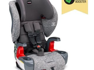 Britax Grow With You ClickTight Harness 2 Booster Car Seat a 2 layer Impact Protection a 25 to 120 Pounds  Asher