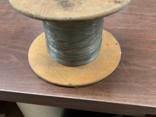 Spool of binding wire