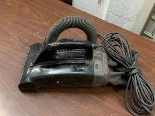 Small hand held vacuum