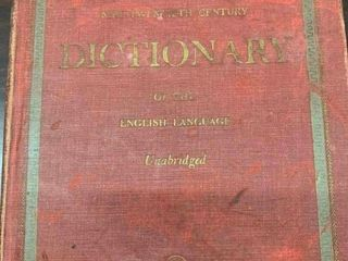1951 Websters Dictionary