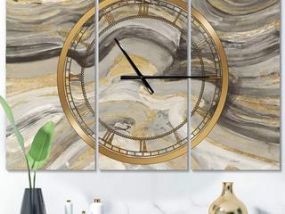 3 Panel Clock