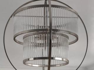 8 light Globe Chandelier