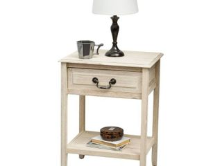 Acacia Wood Accent Table by Christopher Knight Home