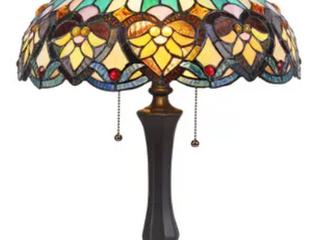 Chloe Tiffany Style Tamble lamp
