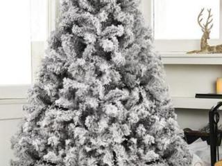 Christmas Tree w  Artificial Snow