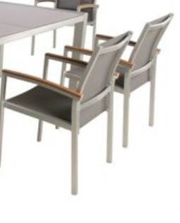 Outdoor Aluminum Dining Chairs by Christopher Knight Home   Set of 2