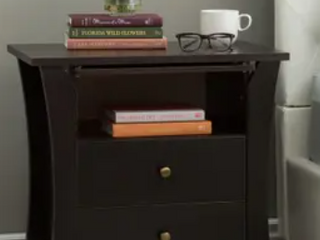 Furniture of America 2 Drawer Nightstand