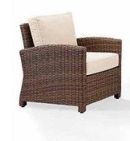 Crosley Outdoor Wicker Arm Chair