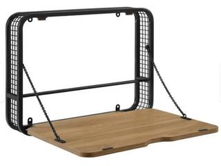 Carbon loft Wall Mount Drop Down lap Top Desk