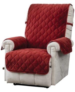 Innovative Textile Solutions logan Micro Velvet Plush Recliner Furniture Cover Slipcover