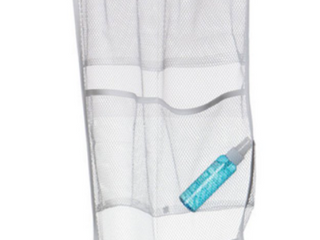 Evelots 6 Pocket Mesh Shower Caddy