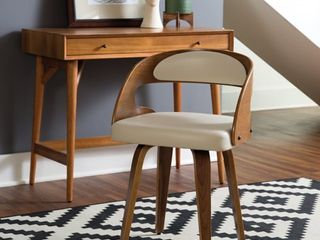 Bentwood Frame Mid Century Modern Dining Chair