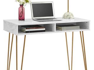 Modern Style Marbled Design Computer Desk
