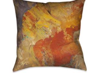 laurel Home  Amber Patterns II  Throw Pillows   Set of 2