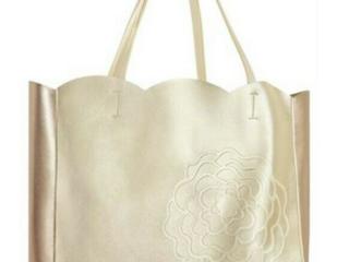 Elizabeth Taylor Gold Tote Bag w  Shoulder Strap