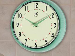Round Retro Kitchen Vintage 50s Wall Clock