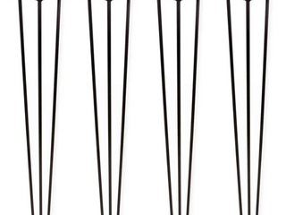 Black Steel legs for Table   Set of 4