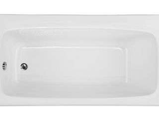 left Hand Drain White Tub
