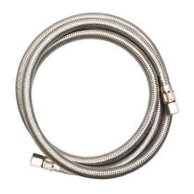 EASTMAN 10 ft 1800 PSI Stainless Steel Ice Maker Connector