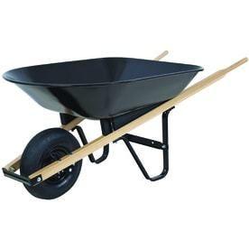 Blue Hawk 4 cu ft Steel Wheelbarrow