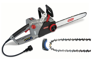 Electric Chain Saw   PowerSharp Chain   Stone