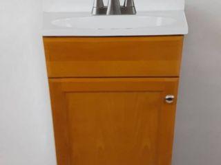 18x35x16in Golden Vanity WITH Top
