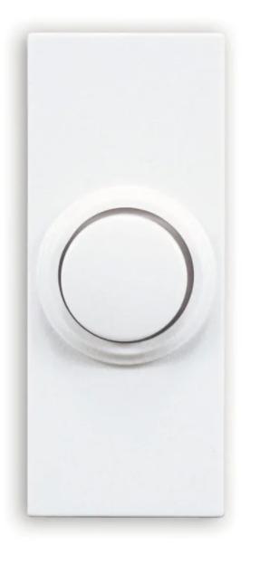 Utilitech Wireless White Doorbell Button