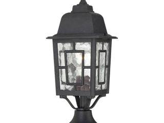 Banyon light Post lantern w  Glass Fixture