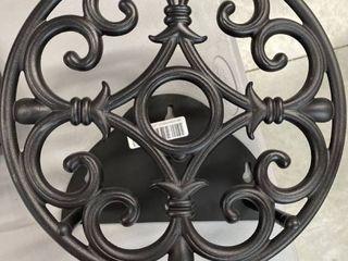 Decorative Hose Hanger Black