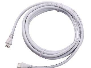 BlACK DECKER PureOptics lED 108in Jumper Wire Accessory  White