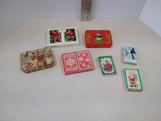 Christmas  winter playing cards