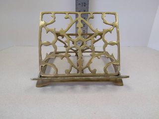 Andrea by sadek brass book stand