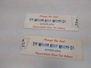 2 William Kelly Milling Company Baker s hat