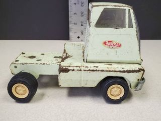 Vintage Tonka log hauler semi truck Just The Semi Front