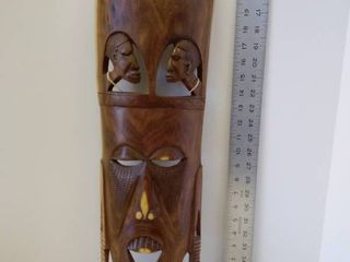 African tribal mask made in Kenya